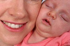 Free Closeup Of Newborn Baby Stock Photo - 584300