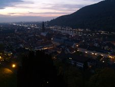 Free Heidelberg Panorama Ii Royalty Free Stock Photography - 584517