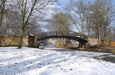 Free Worsley Village Bridge Stock Photos - 584883