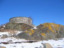 Free Steinvikholm Castle Stock Photo - 585520