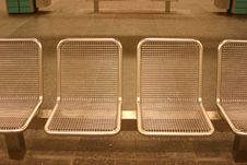 Free Subway Chairs Stock Images - 585634