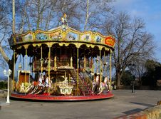 Free Merry-go-round Royalty Free Stock Image - 586856