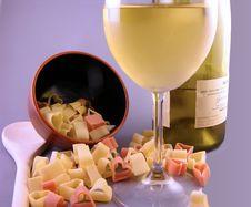 Free Valentine Italian Dinner Royalty Free Stock Image - 586916