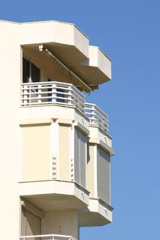 Free Balcony And Blue Sky Stock Images - 587154