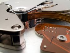 Free Hard Drive Detail 9 Royalty Free Stock Images - 587399