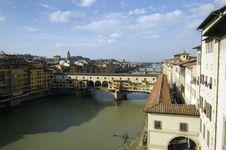 Free Ponte Vecchio, Firenze, Floren Stock Image - 588321