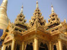 Free Shwedagon Pagoda Stock Image - 589251