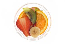 Free Fruit Bowl Royalty Free Stock Photography - 589307