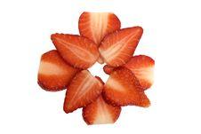 Free Sliced Strawberries Stock Photo - 589310