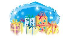 Free Christmas Gifts Stock Images - 589564