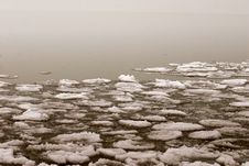 Free Icefield Meets Water Stock Image - 589731