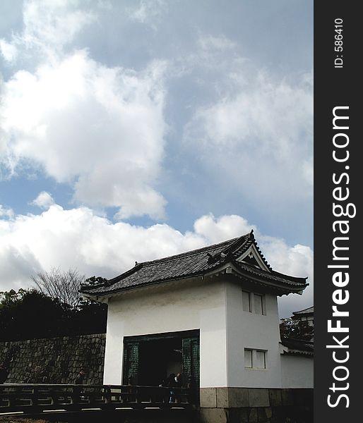 A detail from Nijo Castle