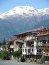 Free Alpine River Town Royalty Free Stock Photo - 5800905