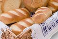 Free Bread Assortment In A Basket Royalty Free Stock Image - 5804816