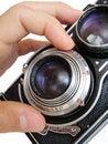 Free Vintage Camera Focusing Royalty Free Stock Photo - 5805345