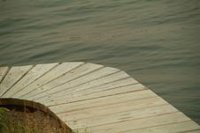Dock Curve Stock Photography