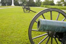 Free Union Cannons Massed Here Royalty Free Stock Images - 5801199