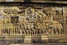 Free Indonesia, Central Java. The Temple Of Borobudur Stock Photo - 5801940