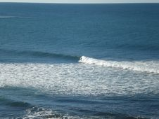 Free Lone Surfer Royalty Free Stock Image - 5802106