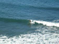Free Lone Surfer Stock Photos - 5802173