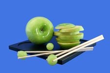 Free Grapes And The Chinese Rods Royalty Free Stock Images - 5802349