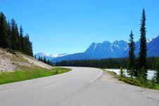 Free Road Near Columbia Glacier Stock Photography - 5802542