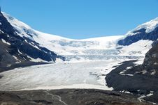 Columbia Glacier Royalty Free Stock Images