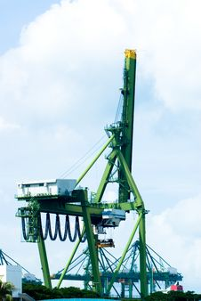 Free Port Equipments Stock Images - 5802824