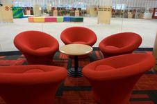 Free Library Interior Stock Image - 5803131