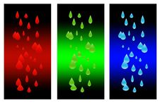 Free Rain Compositions Dark Version Stock Photo - 5803400