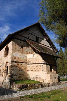 Free Saint Nikolas Stegis  Church, Kakopetria Stock Images - 5803594