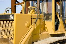 Free Excavator Close-up Royalty Free Stock Photography - 5803887