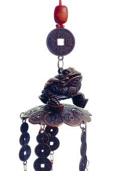Free Chinese Metallic Frog Stock Image - 5803971