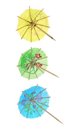 Free Cocktail Umbrellas Stock Photos - 5804083
