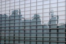Free Buildings In Reflection Stock Images - 5804144