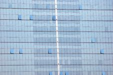 Glass Wall Of Skyscraper - Closeup Stock Image