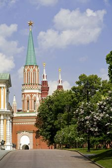 Free The Saviour (Spasskaya ) Tower (Frolovskaya) Stock Photo - 5804350