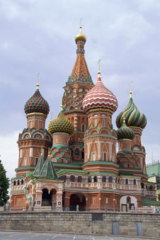 Free St. Basil Cathedral (Moscow,  Red Square) Stock Photos - 5804373