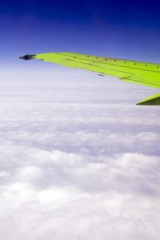 Free Wing Of The Plane Royalty Free Stock Photos - 5804408