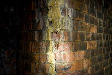 Free Disused Railway Tunnel Wall Stock Photography - 5804752