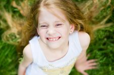 Free Smiling Cute Little Girl Stock Photo - 5804860