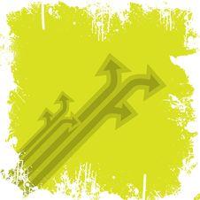 Free Arrows Grunge Royalty Free Stock Image - 5804866