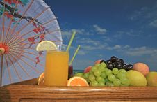 Free Fruits And Juices Royalty Free Stock Photography - 5805177
