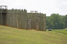 Free The North Gate At Andersonville Royalty Free Stock Images - 5805719