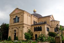 Franciscan Monastery Stock Photo