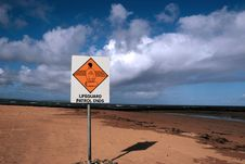 Lifeguard Sign 4 Royalty Free Stock Images
