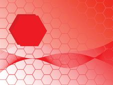 Free Hexagons Background Stock Photos - 5806313
