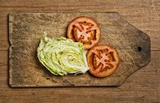 Free Tomatoes And Lettuce Stock Images - 5806684