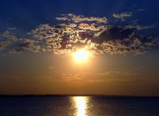 Free Summer Sunset. Stock Photos - 5806783