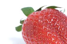 Free Strawberry Macro Royalty Free Stock Images - 5806869